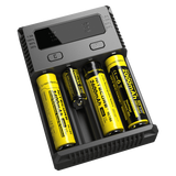 Nitecore Intellicharger New I4 4 Bay Li-ion Battery Charger