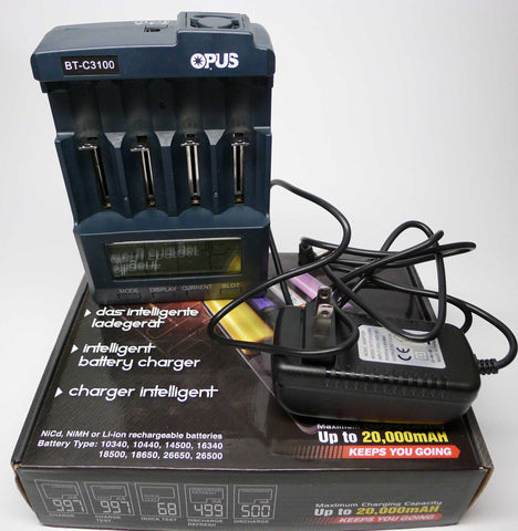 Opus BT-C3100 Charger/Battery Tester
