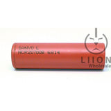 Sanyo NCR20700B Lithium Ion Battery - genuine - side view
