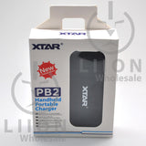 XTAR PB2 Power Bank and Charger - Box