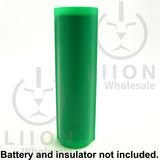18650 PVC Heat Shrink Wraps - 10 pack - Dark Green
