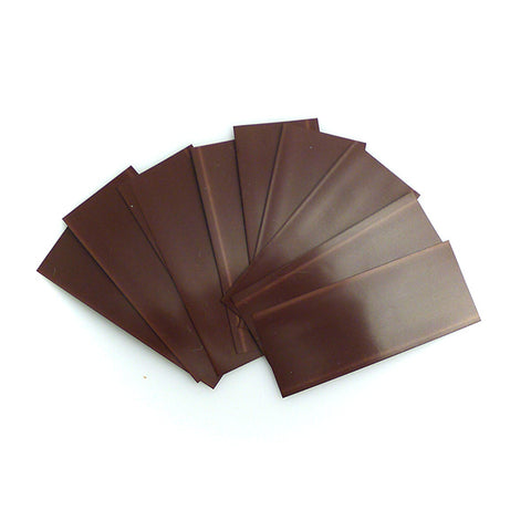 18650 PVC Heat Shrink Wraps - 10 pack - Brown