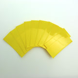 18650 PVC Heat Shrink Wraps - 10 pack - Yellow