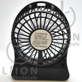 mini fan - black back