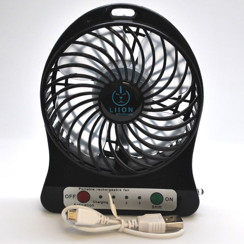 mini fan - black set