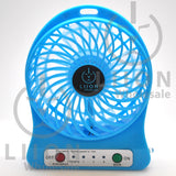mini fan - blue front