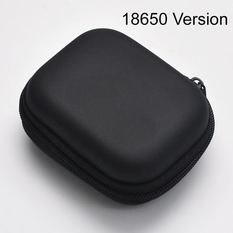 18650 EVA Hard Protective Battery Travel Case - 18650 Version