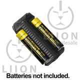 Nitecore F2 Ultra-Portable Powerbank and 2-Bay Battery Charger - with batteries