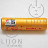 IMREN 18650 3000mAh 15A/35A Flat Top Battery - Authenticity Sticker