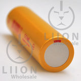 IMREN 18650 3000mAh 15A/35A Flat Top Battery - Negative