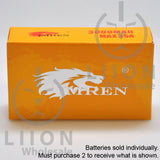 IMREN 18650 3000mAh 15A/35A Flat Top Battery - Box