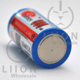 IMREN 18350 800mAh Button Top Battery - negative