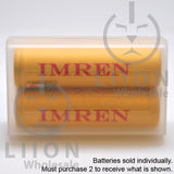 IMREN 20700 3200mAh 25A/40A Flat Top Battery - Case Closed