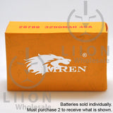 IMREN 20700 3200mAh 25A/40A Flat Top Battery - Box