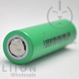 IMREN 25RS 18650 2500mAh 25A Flat Top Battery - Positive