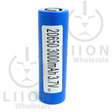 LG HG6 20650 lithium ion battery with sticker