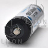 Protected LG F1L 3400mAh 5A Li-ion 18650 Button Top Battery - Positive