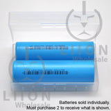 Lishen 21700-LR2170SA 12A Flat Top 4000mAh Battery - Case