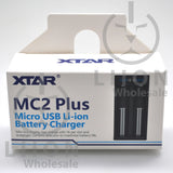 XTAR MC2 Plus Battery Charger - Box