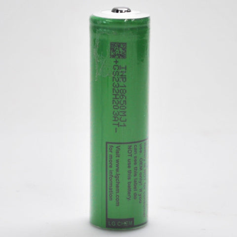 LG MJ1 Unprotected Button Top 18650 10A 3500mAh Battery