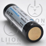 Protected LG MJ1 3500mAh 10A 18650 Button Top Battery - Negative