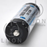 Protected LG MJ1 3500mAh 10A 18650 Button Top Battery - Positive
