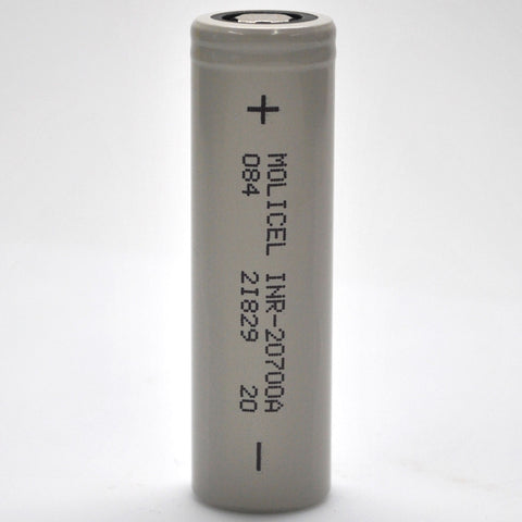 Molicel INR-20700A 35A 3000mAh Flat Top Battery
