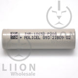 Molicel/NPE INR-18650-P28A 35A 2800mAh Flat Top 18650 Battery - Side
