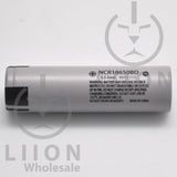 Panasonic NCR18650BD 10A Flat Top 3180mAh Battery - Side