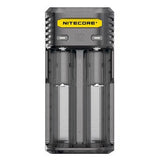 Nitecore Q2 2-bay Digital Lithium Ion Battery Charger - Black