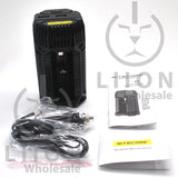 Nitecore V2 2-Bay In-Car Lithium Ion Battery Charger - In the Box