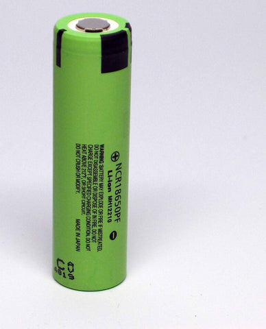 Panasonic NCR18650PF Battery Genuine & Tested - 10A 2900mAh - Flat Top - Wholesale Discount