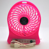 mini fan - pink set