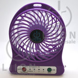 mini fan - purple front
