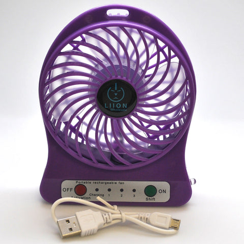 mini fan - purple set