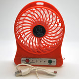 mini fan - red set
