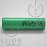 Samsung 25R 18650 20A Flat Top 2500mAh Battery - Warning