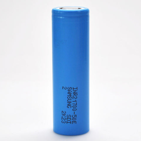 Samsung 50E 21700 10A Flat Top 5000mAh Battery