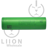 Sony/Murata VTC6 15A-30A 3000mAh Flat Top 18650 Battery - Side