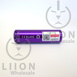 Vapcell 20700 Purple 30A Flat Top 3000mAh Battery - serial code