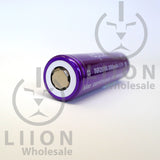 Vapcell 20700 Purple 30A Flat Top 3000mAh Battery - top view