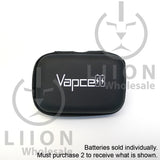 Vapcell 20700 Purple 30A Flat Top 3000mAh Battery - case closed
