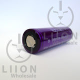 Vapcell 21700 24A Flat Top 3750mAh Battery - top view