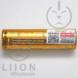 Vapcell K30 18650 15A/30A Flat Top 3000mah Battery - Authenticity Sticker