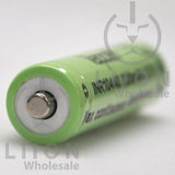 Vapcell 10440 3A Button Top 320mAh Battery - Positive