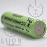 Vapcell 10440 3A Button Top 320mAh Battery - Negative