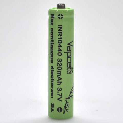 Vapcell 10440 3A Button Top 320mAh Battery