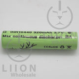 Vapcell 10440 3A Flat Top 320mAh Battery - Side