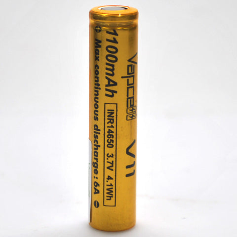 Vapcell 14650 6A Flat Top 1100mAh Battery