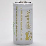 Vapcell 16340 7A Button Top 800mAh Battery